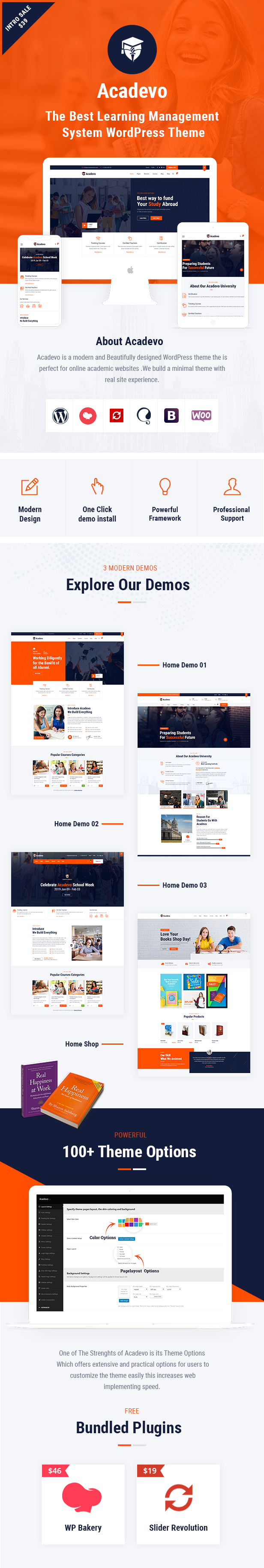 Acadevo WordPress Theme